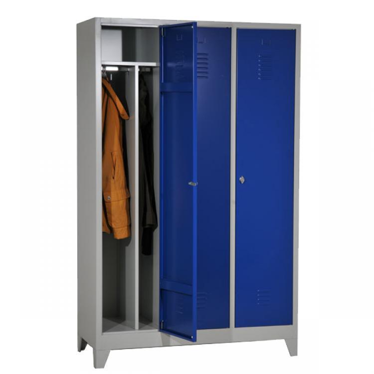 standaard garderobekasten voor vuil en propere kledij garderobekasten metaal tormetal. Black Bedroom Furniture Sets. Home Design Ideas
